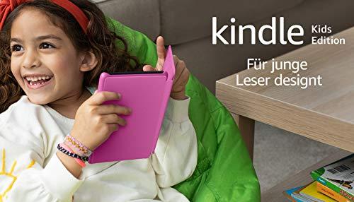 Der neue Kindle Kids Edition - mit Zugriff auf mehr als tausend Bücher, pinke Hülle