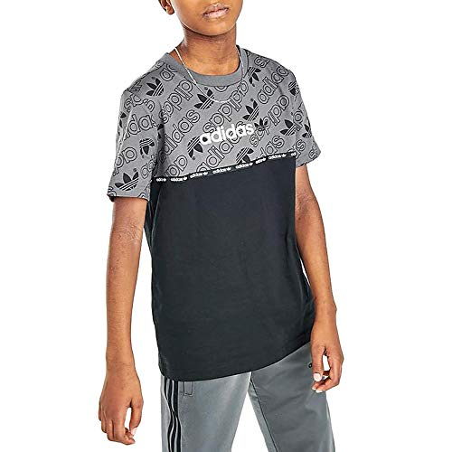 adidas Camiseta Challenger Gm8514 para niños - gris - Medium
