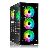 Dieser High End PC überzeugt durch perfekt abgestimmte Markenkomponenten. Mit der NVIDIA GeForce RTX 3060 12GB ist man für alle aktuellen Spieletitel bestens gewappnet. Flüsterleister betrieb, egal ob Gaming, Bild-sowie Videobearbeitung oder Live-Str...