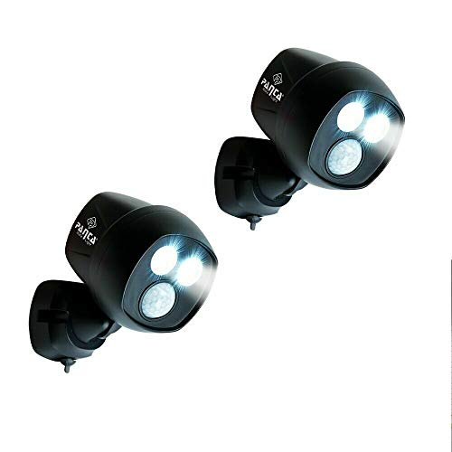 Panta Safe Light 2 Stuck Led Sicherheits Licht Aussenleuchte Wandleuchte Mit Bewegungsmelder Lichtsensor Kabellos Fur Innen Und Aussen Ip65 Das