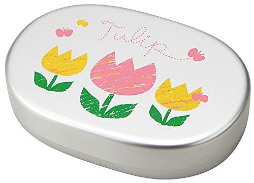 竹中 日本製 お弁当箱 チューリップ キッズ アルミ 小判 300ml T-56448