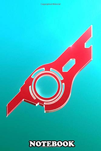 """Notebook: Shulk Emblem , Journal for Writing, College Ruled Size 6"""" x 9"""", 110 Pages"""