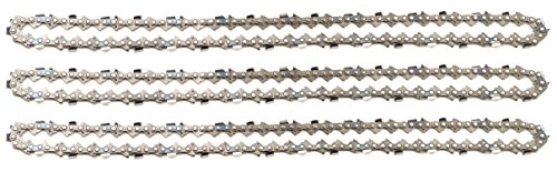 3 tallox Sägeketten .325 1,6 mm 67 TG 40 cm Schwert Vollmeißel kompatibel mit Stihl Motorsägen