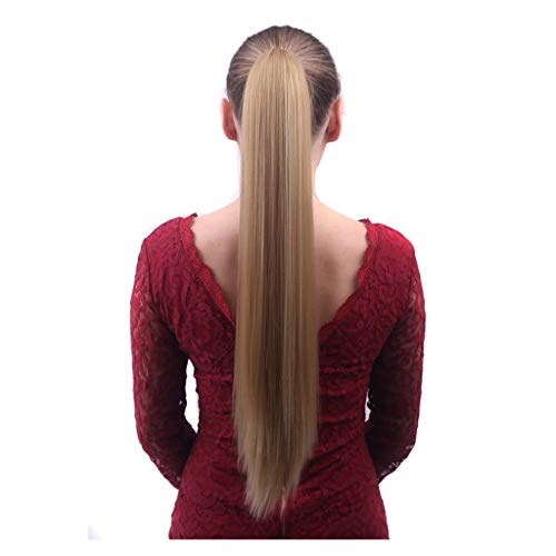SLL Peluca de fibra química de alta temperatura de alambre 55 cm de moda pelucas de pelo de las señoras