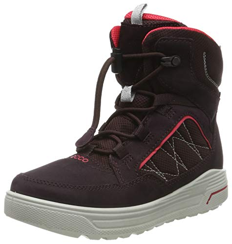 ECCO Jungen URBAN Snowboarder Hohe Sneaker, Violett (Fig/Teaberry 51641), 35 EU