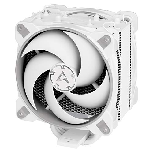 ARCTIC Freezer 34 eSports DUO - Tower CPU Cooler with BioniX P-Series case fan in push-pull, 120 mm PWM fan, for Intel and AMD socket - Grey/white