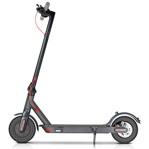 WiLEES Mankeel Electric Scooter 350W High Power Smart 8.5''E-Scooter, Lightweight Foldable with LCD-display, 36V Rechargeable Battery Kick Scooters, Electric Brake for Adult