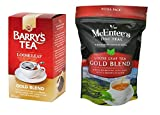 Barry's Loose Leaf Gold Blend 250g & McEntee's Gold Blend 250g (Twin Pack Combination) Irelands two Great loose Teas