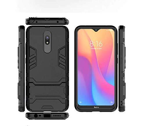 Capa Case Armor+ 2 Película Vidro Full Glue 9d Xiaomi Redmi 8a/ Redmi 8 (Capa Case Armor preta + 2 Película Vidro Full Glue 9d Xiaomi Redmi 8a/ redmi 8)