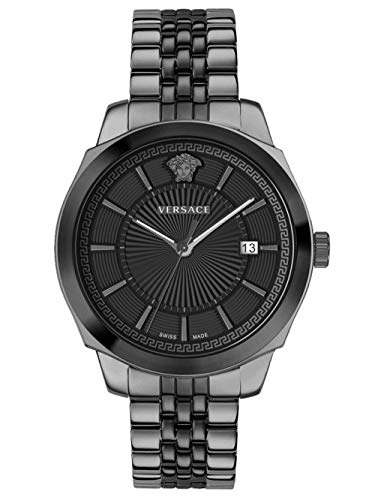 Versace Herren Armbanduhr ICON Classic 42 D/BLK B/BICO V315 VEV9005 19