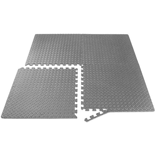 ProsourceFit Extra Thick Puzzle Exercise Mat 1/2