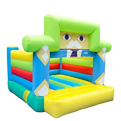 wangYUEQ Aufblasbare Schloss für Kinder im Freien Kinder-Paddling-Pool-Haushalts-Kinder-Rutsche Indoor-Kinder-Trampolin-Kinderspielplätze (Color : Color, Size : 310 * 260 * 240cm)
