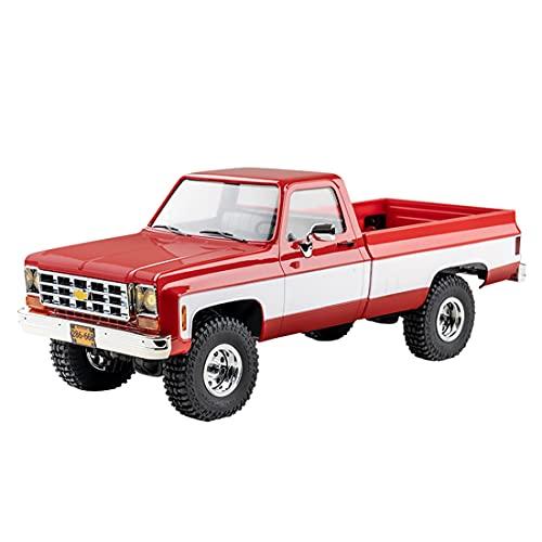 ITOP Mando a distancia modelo de camión para Chevrolet K10, FMS Chevrolet K10 1/18 4WD 2.4G RC Clásico Pickup Camión Escalada Modelo juguete (Autorizado por Chevrolet)