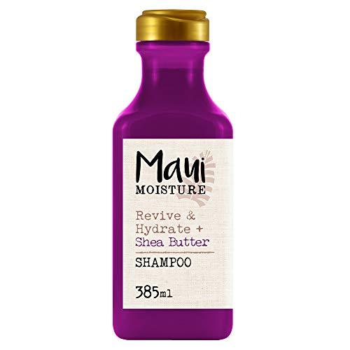 Maui Moisture, Champú Revitaliza e Hidrata Manteca de Karité, Pelo Seco y Dañado, 385 ml