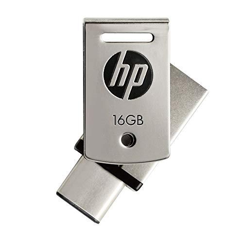 HP(ヒューレット・パッカード)『デュアルUSBメモリ16GB(HPFD5000M-16)』