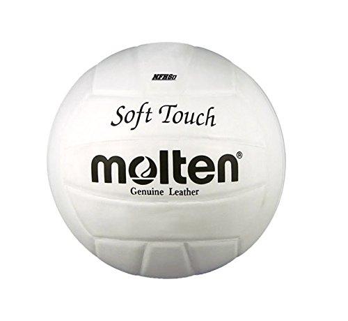 MOLTEN Volleyball, aus Kunstleder, Weiß, Größe 5