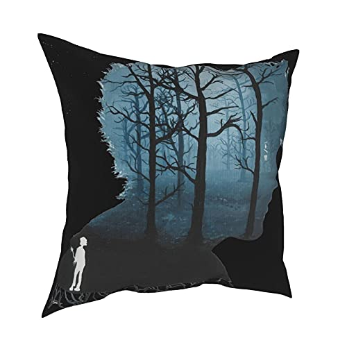 DRXX The Cure Tank Top Funda de Almohada Moda Funda de Almohada Cuadrada Decoración Throw Pillow Cover 45 X 45 cm