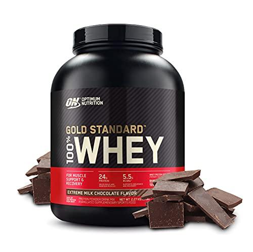 Gold Standard ゴールドスタンダード 100% ホエイ プロテイン エクストリームミルクチョコレート 2.27kg (5...