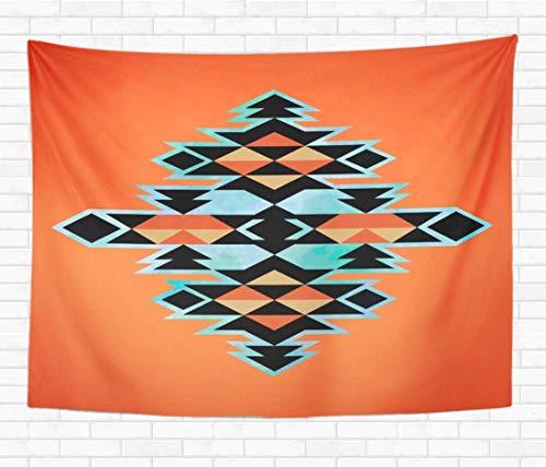 N\A Home Dekorative Tapisserie Wandbehang Peru Navajo Azteken Inspirationsmuster Indian Indian Tribal Tapisserien Wanddecke für Wohnheim Wohnzimmer Schlafzimmer