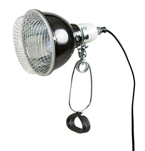 Trixie 76076 Alu.-Terrarienabdeckung, für 1 Kompaktlampe, 50 W: 30 × 12 × 9 cm