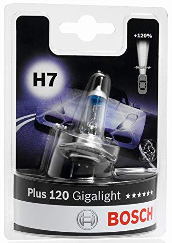 BOSCH Glühlampe Gigalight Plus 120 Xenongas H7, 12V/55W, PX26d, Anzahl 1