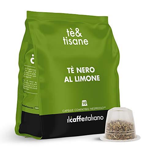 Il Caffè Italiano - 50 capsule compatibili Nespresso Tè Nero al Limone - Frhome