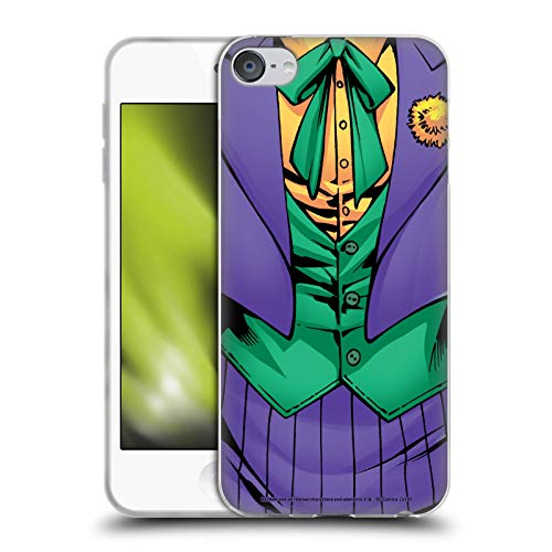 Head Case Designs Licenciado Oficialmente The Joker DC Comics Nuevo 52 Disfraz Arte del Personaje Carcasa de Gel de Silicona Compatible con Apple Touch 6th Gen/Touch 7th Gen