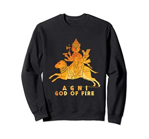 Agni Hindu God of Fire India Sudadera