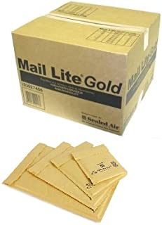G//4-230mm x 340mm A000//B00//C0//D1//E2//F3//G4//H5//J6//K7 25 x AroFOL Padded Bubble Wrap Lined Envelopes Bags Mailing Postal Postage Packaging Gold Self Seal All Sizes