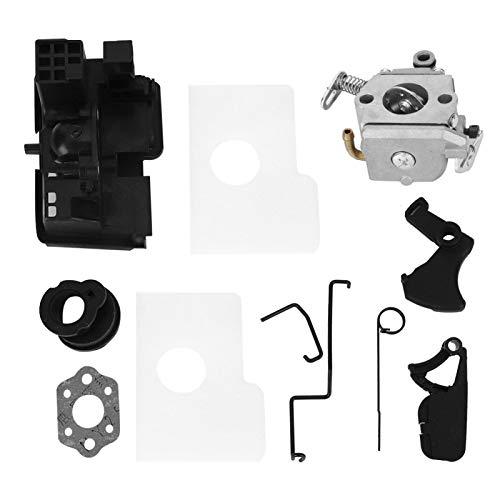 Kit de colector de admisión de junta de filtro de aire de carburador de motosierra de repuesto para Stihl MS170 MS180 017 018