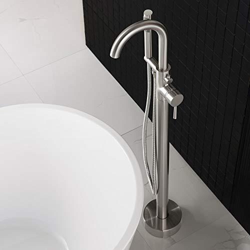 WOODBRIDGE Bathtub Faucet B, F-0001 Brushed Nickel