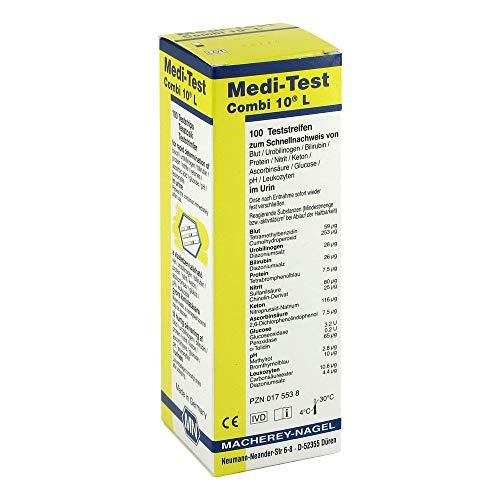 MEDI-TEST Combi 10 L Teststreifen 100 St