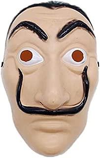 Anime Masks La casa de papel Card House Dali Mask Halloween Party Cosplay Show Props