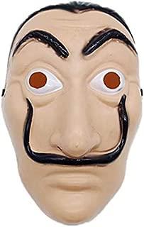 Dali Plastic Mask Paper House La Casa De Papel Cosplay Decoration Masquerade Halloween mask