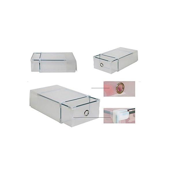 Drawer Organizador de 10 cajas de pl/ástico apilables pl/ástico de la marca Vinteky