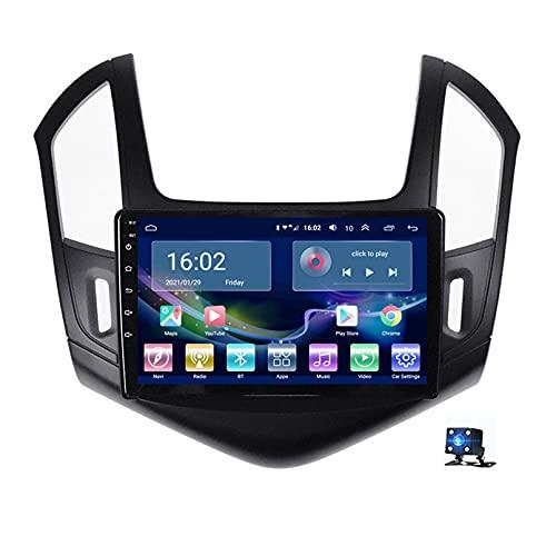 9'Android 10.0 Pantalla Radio Estéreo Para Automóvil Navegación Por Satélite, Para Chevrolet Cruze J300 J308 2012-2015 Soporte Bluetooth WIFI GPS Reproductor Multimedia Autoradio(Color:WiFi 2G+32G)