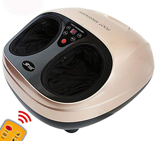 Best Buy! YF-CHEN Foot Massager Foot Massager with Roller,Kneading,Shiatsu and Air Pressure Massage ...