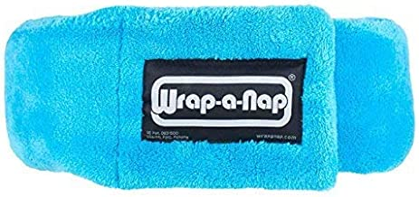 Wrap-a-Nap - Travel Pillow, Sleep Mask & Ear Muff in One. Sleep Better at Home, on Airplanes, Cars, Camping, Dorm Rooms, in the Office or at Home. Ultra-Soft Neck Pillow & Reading Pillow. Made in USA.