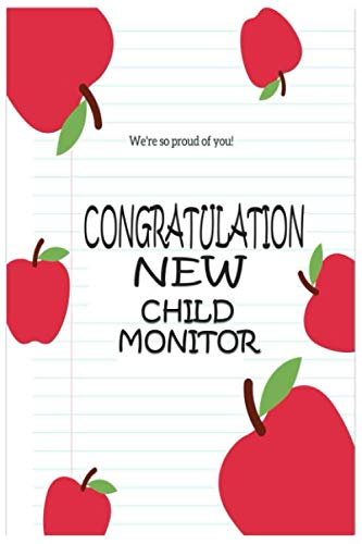 Work / New Child Monitor Notebook: The notebook has been designed by independent designers who you will support with every purchase. A great gift idea .