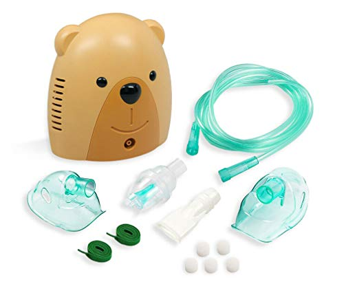 Wave Medical Kid Friendly Cool Mist System with Accessories - Brian the Bear