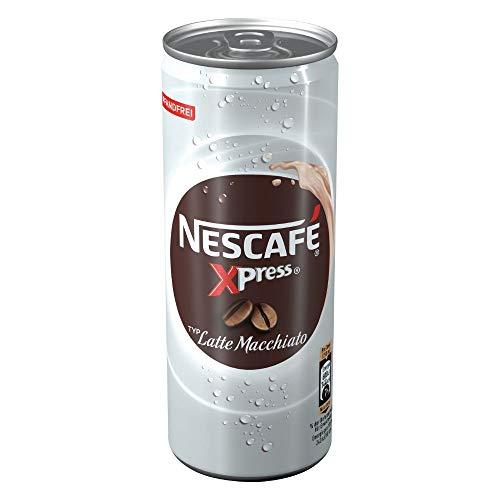 NESCAFÉ Xpress Latte Macchiato, ready to drink Eiskaffee, 1er Pack (1 x 250ml)
