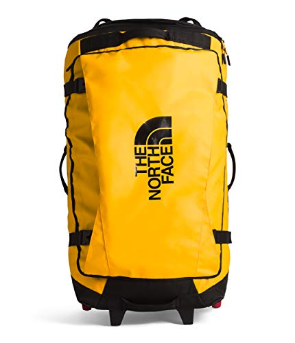 The North Face Rolling Thunder 36 Bag Case Rolling Wheeled Duffel (summit gold/ tnf black)