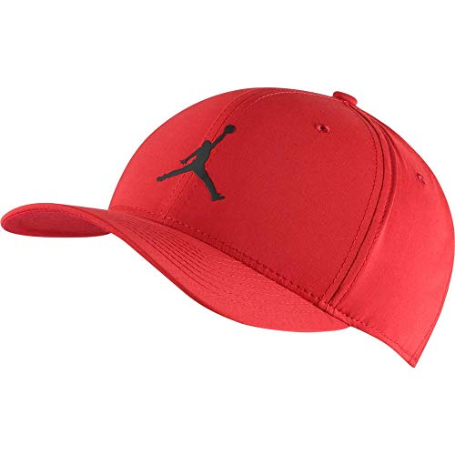 NIKE Jordan CLC99 Snapback Gorra, Unisex Adulto, Gym Red/Black, MISC