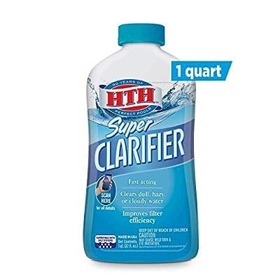 HTH 67023 Super Clarifier Swimming Pool Cleaner, 32 fl oz