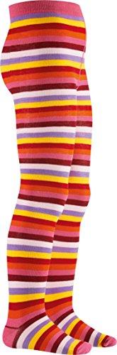 Playshoes Mädchen Ringel Strumpfhose, Mehrfarbig (original 900), 98 (Herstellergröße: 98/104)
