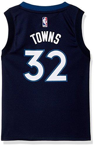 Outerstuff NBA Minnesota Timberwolves-Towns Kids Replica Player Jersey-Road, Large(7), Capital Blue