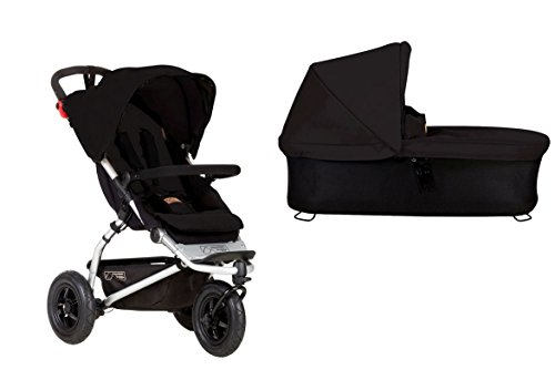 Mountain Buggy Swift 3 + Carrycot Plus Baby Coffre – Nouvelle Collection