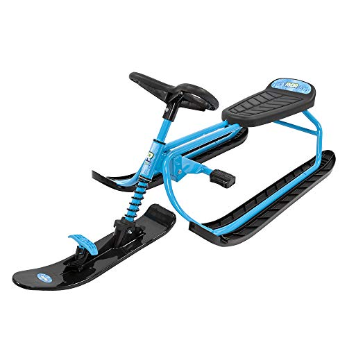 RYDR Snow Runner Bike Sled with Steering Wheel and Foot Breaks