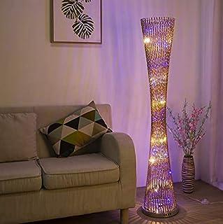 YANSW Lampadaires Lampadaire Lampadaire Lampes Verticales Lumières Moderne Minimaliste Alumi1 Led Spirale Ladder Creux Lam...