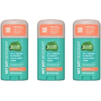 3-Count Seventh Generation Aluminum-Free Deodorant, 2.65 oz